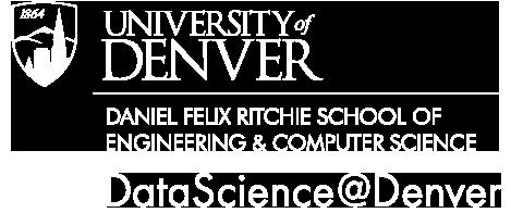 University of Denver Online Master in Data Science - home