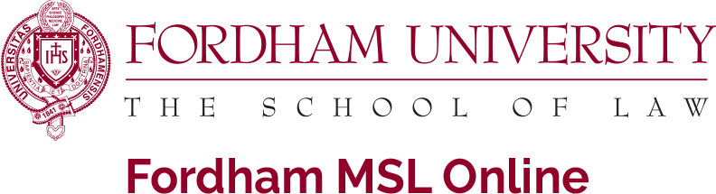 Fordham University. The school of law. Fordham MSL Online