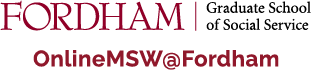Online MSW@Fordham homepage