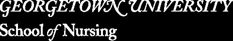 Georgetown University School of Nursing & Health Studies Logo