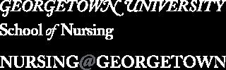 Georgetown University School of Nursing & Health Studies Logoheader
