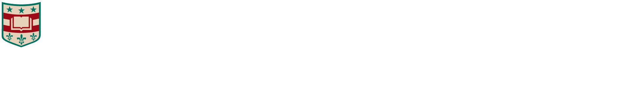 Washington University in St. Louis School of Law Logoheader